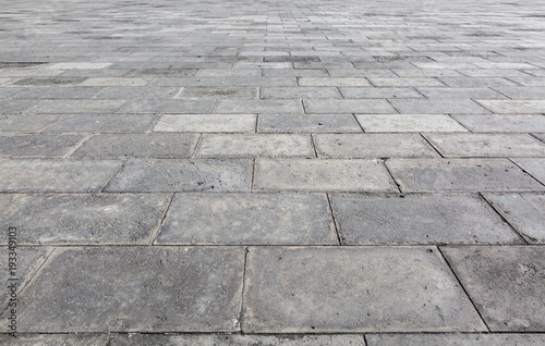 Fotografia Grey pavement brick