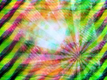 Pastel Ray Wave Abstract