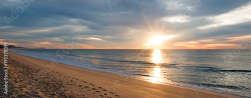 Obraz Sunrise over beach in San Jose Del Cabo in Baja California Mexico BCS - fototapety do salonu