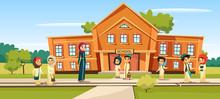 Muslim School Vector Illustrat...
