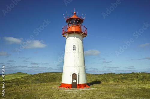 Keuken foto achterwand Noord Europa Lighthouse Sylt Island Germany