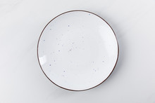 Top View Image Of Plate Placed...