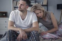 Unhappy Husband And Sad Wife
