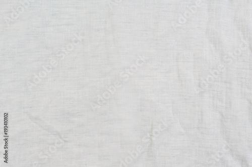 Fotobehang Stof Texture of grey crumpled fabric