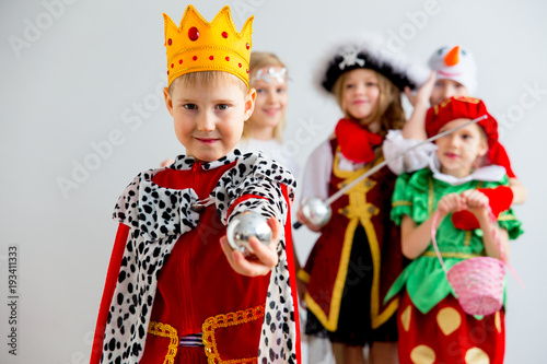 Fotografija Kids costume party
