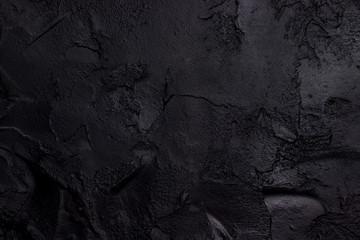 Czarny beton teksturowany