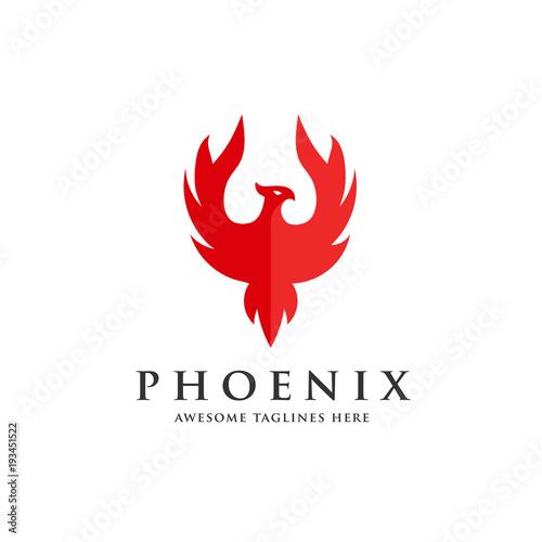 Awesome Luxury Phoenix Logo Concept Best Phoenix Bird Logo Design Download Free Architecture Designs Licukmadebymaigaardcom