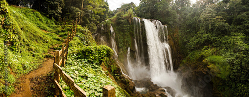 Recess Fitting Waterfalls Pulhapanzak Waterfall in Honduras.