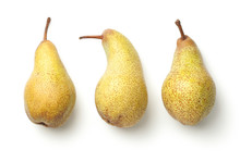 Pears Isolated On White Backgr...