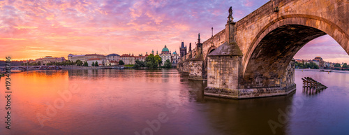 Photo  The Charles Bridge of Prague