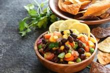 Homemade Black Bean Corn Salsa...