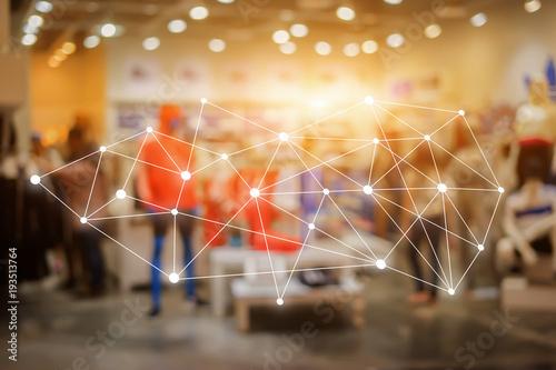 Fotografía  Big data connections
