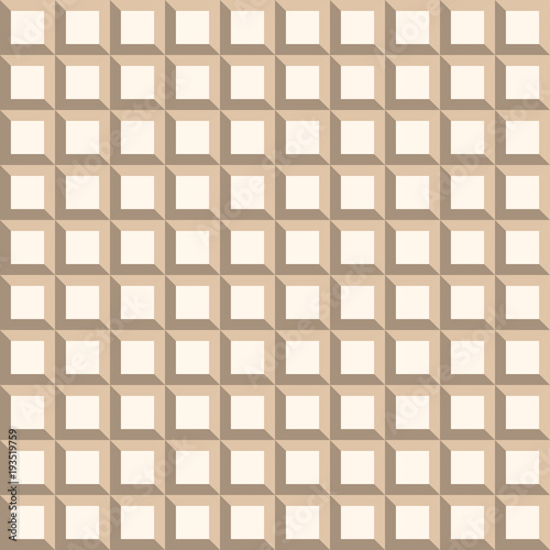 seamless-background-modern-ornament-with-volume-repeating-shapes-geometric-pattern
