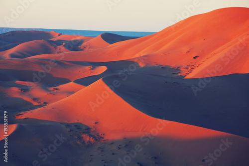 Foto op Canvas Baksteen Sand desert