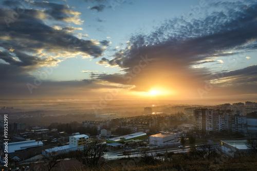In de dag Rio de Janeiro Sunset over Varna