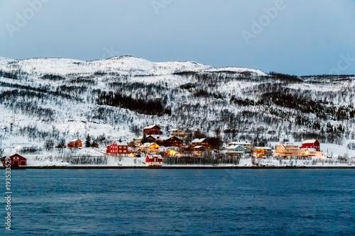 Fotografía  Village in mountains