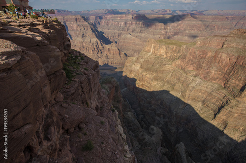 Staande foto Chocoladebruin Grand Canyon,Grand Canyon Arizona,Arizona,Landscape,Canyon,American Nature,Stones,Mountains,Red Stones,Layers,Geologycal Leyers,Geology,Geography,Travel,Tourism,Beautiful Landscape,