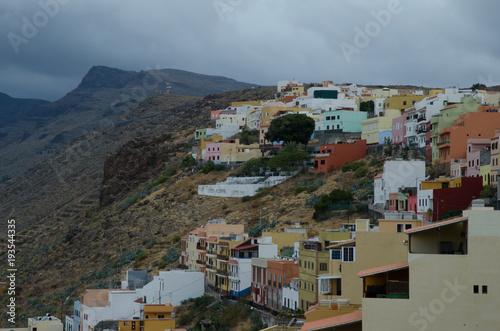 Zdjęcie XXL Wzgórze San Sebastián de La Gomera La Gomera Wyspy Kanaryjskie. Hiszpania.