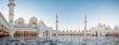 Leinwanddruck Bild - Abu Dhabi, UAE, 04 January 2018, Sheikh Zayed Grand Mosque in the Abu Dhabi, United Arab Emirates