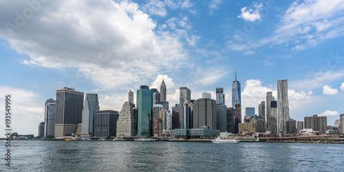 Lower Manhattan from Brooklyn Poster