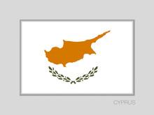 Flag Of Cyprus. National Ensig...