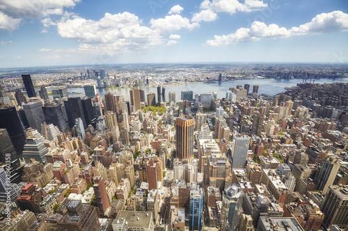 Fototapeta Obrazek nowojorska linia horyzontu, usa