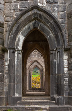 Arches Of Old Church Of Dunlew...
