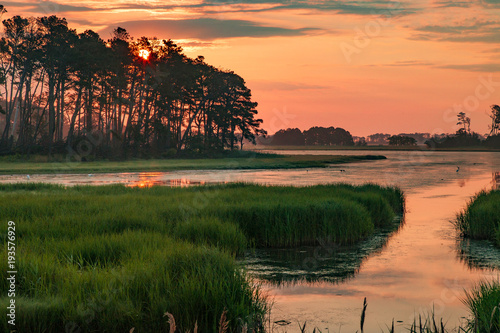 Fototapeta  Chincoteague Sunset Virginia