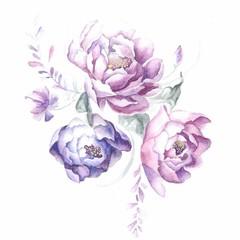 flowers pions