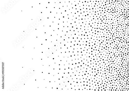 Photo Abstract gradient halftone random dots background