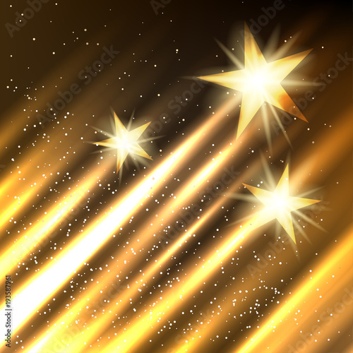 Fotografiet  Hollywood Stars growth background