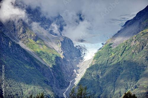 Valokuva  Mountains and glaciers of Alaska
