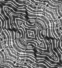 Op Art Abstract Psychedelic Bl...