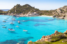 Spiaggia Di Cala Corsara, Sardinia Island, Italy