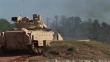 M2 Bradley Advancing And Firin...