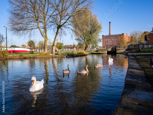 Aluminium Prints Mills Canal Mill Manchester UK