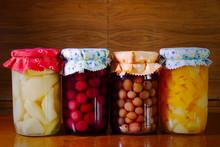 Homemade Preserved Fruit