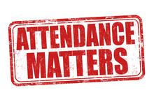 Attendance Matters Grunge Rubb...