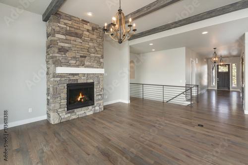 Fotografie, Obraz  Modern Rustic Living Room