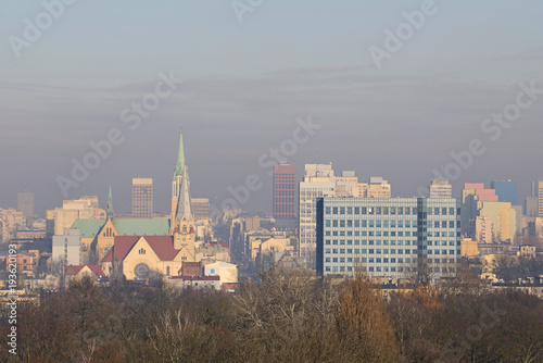 Fototapeta Łódź, Polska. obraz