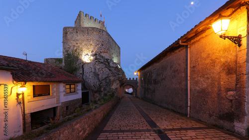 Photo  Castillo del Rey, San Vicente de la Barquera, Cantabria, España
