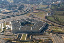 Aerial View Of The Pentagon An...