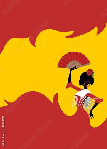 Photo Gypsy spanish dancer