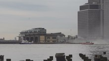 NEW YORK CITY - May 04, 2017 New York City Manhattan Marine Helicopter Squadron