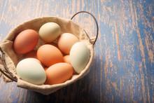 Multicolored Farm Fresh Eggs I...