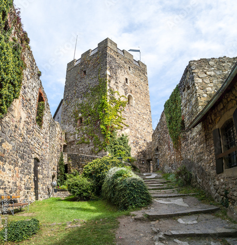 Old Castle Tower Ruin Gosting