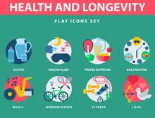 Health And Longevity Icons Mod...