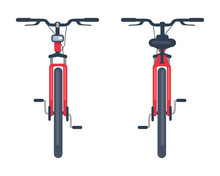 Bike With Pedals And Rudder Fr...