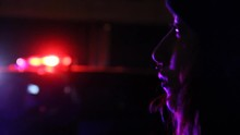 Teen In Beanie Watches Cops