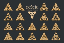 Vector Celtic Trinity Knot. 18...